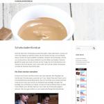 Projektvorstellung schokoladenfondue.eu